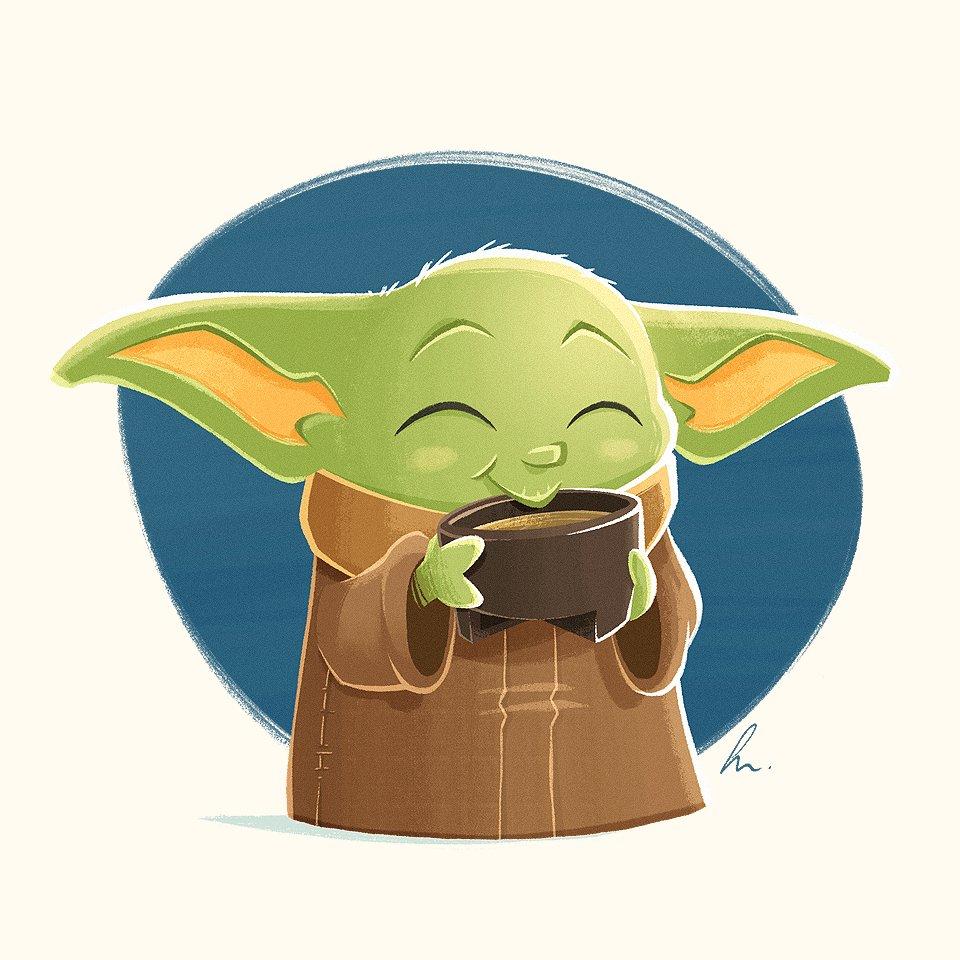 Fan art: Baby Yoda