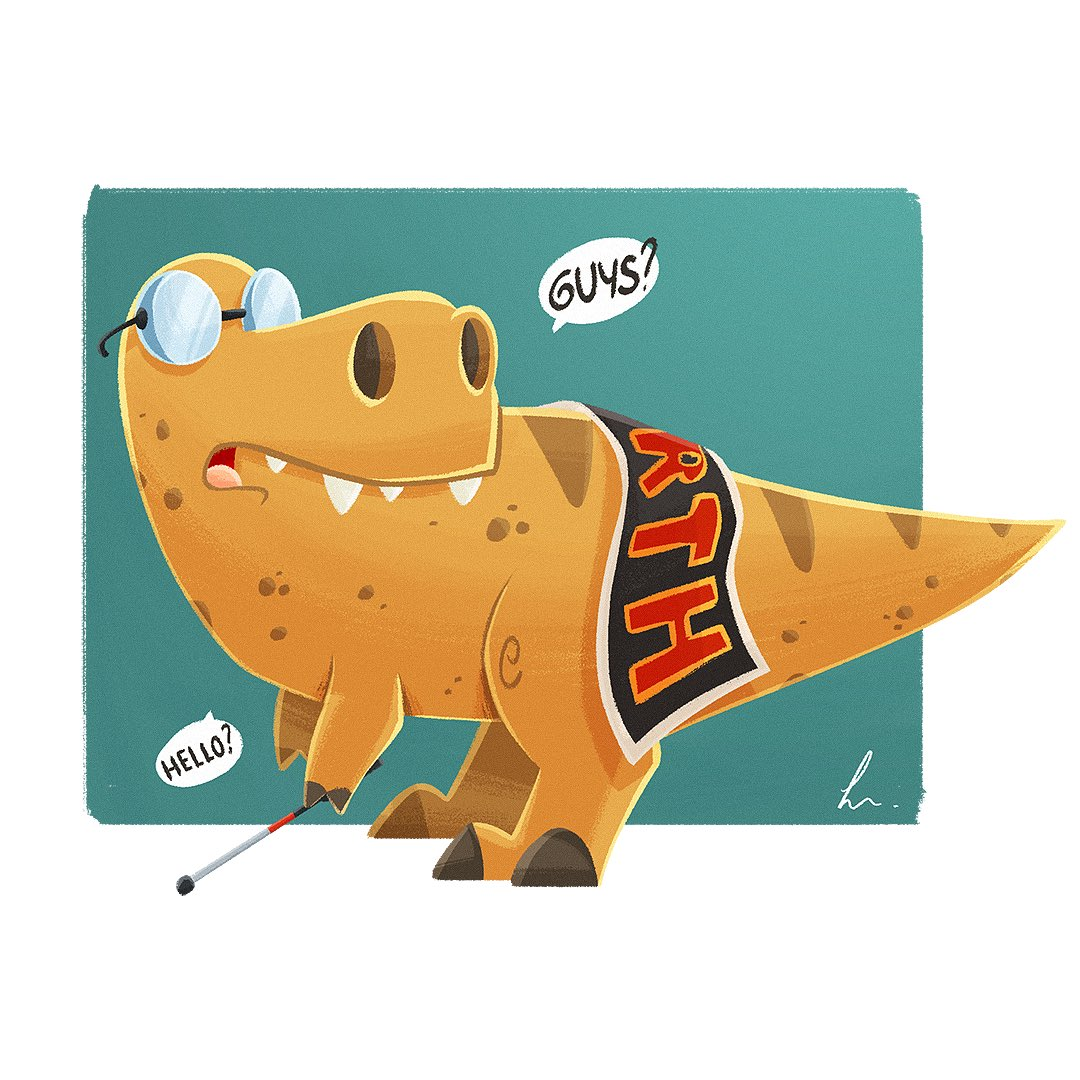 Fan art: T-Rex